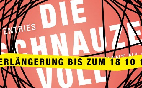 VERLÄNGERT — CALL FOR ENTRIES: »DIE SCHNAUZE VOLL« / »SICK OF IT«